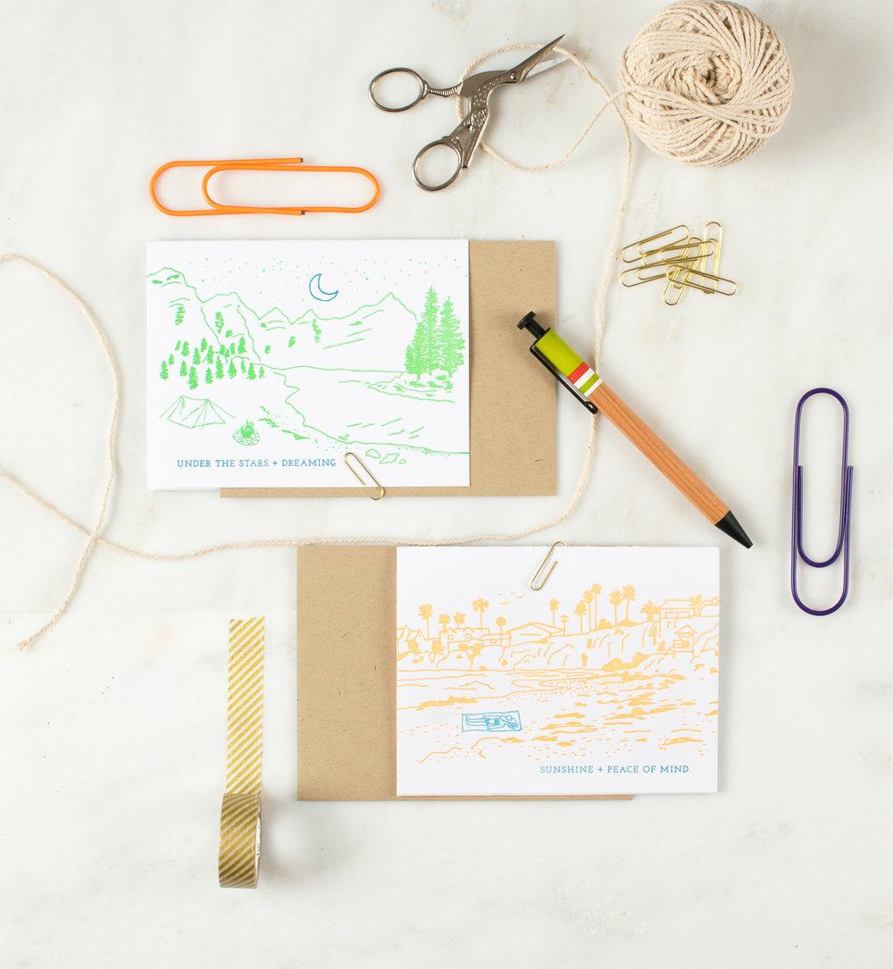 Harken Press : illustration, letterpress greeting cards