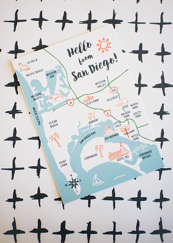 Harken Press : illustrated postcard