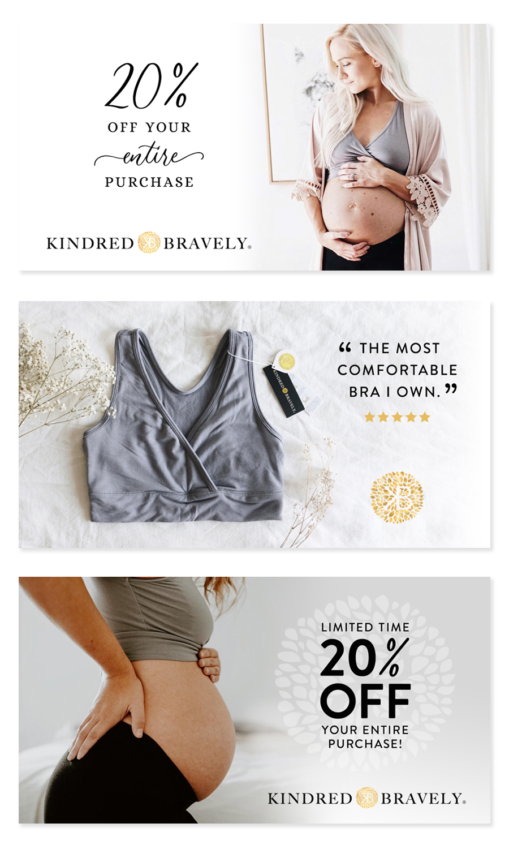 Kindred Bravely : Facebook ads
