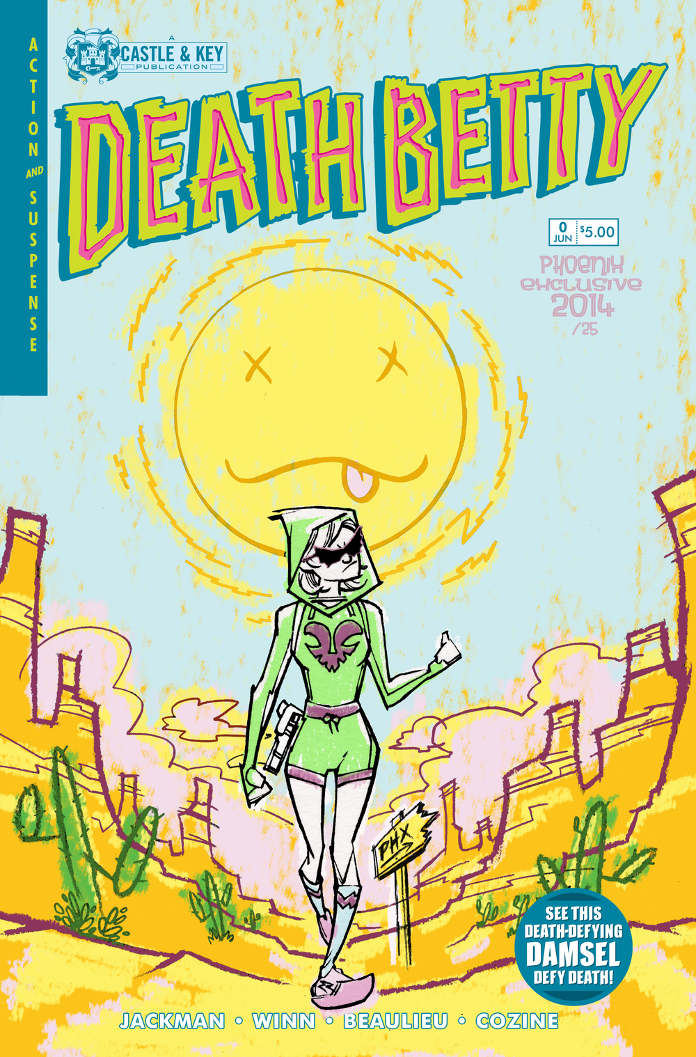 Death Betty 0 Arizona Exclusive Cover