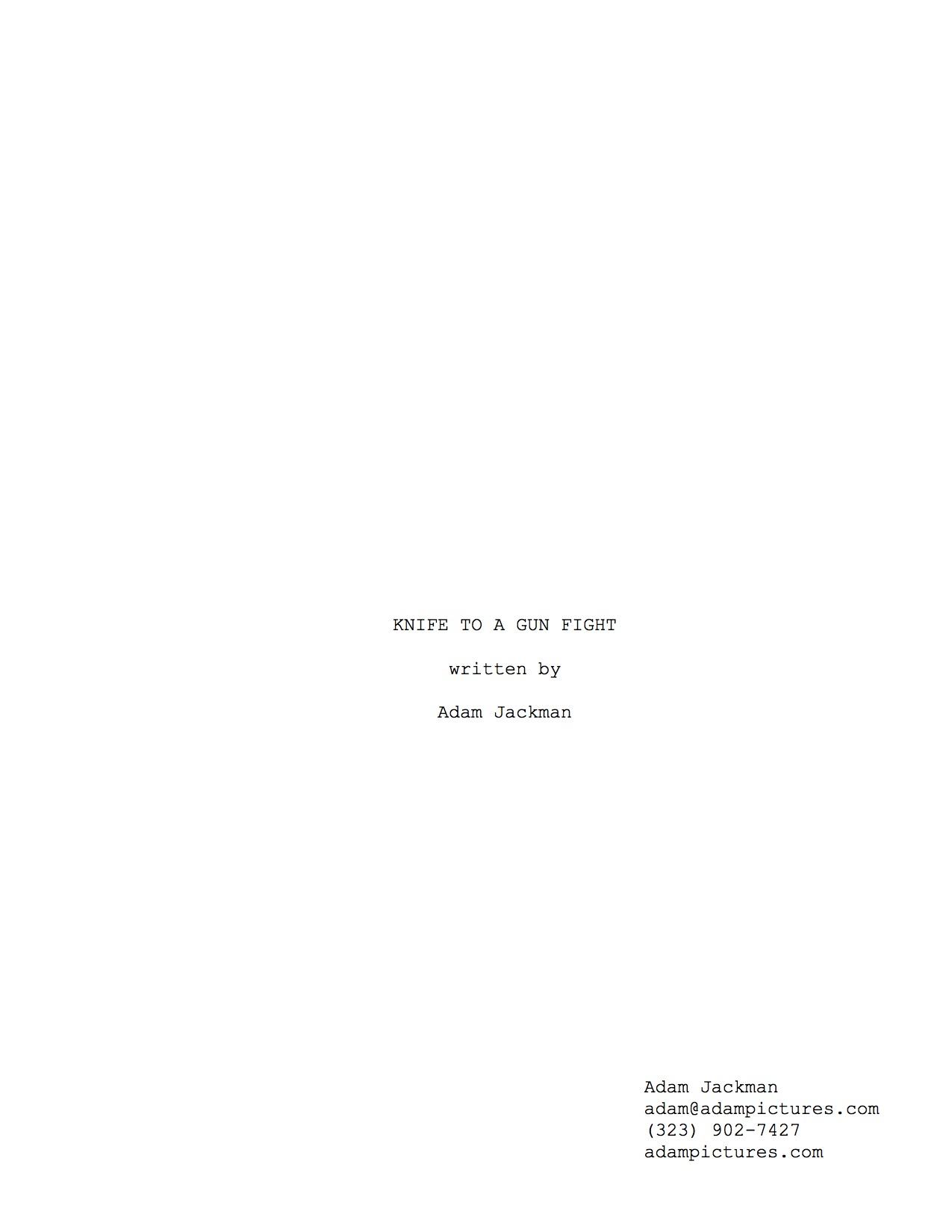 sample screenplay k2agf preview adam jackman