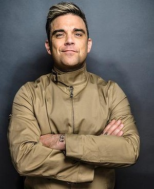 Joe Robbins as played by Robbie Williams