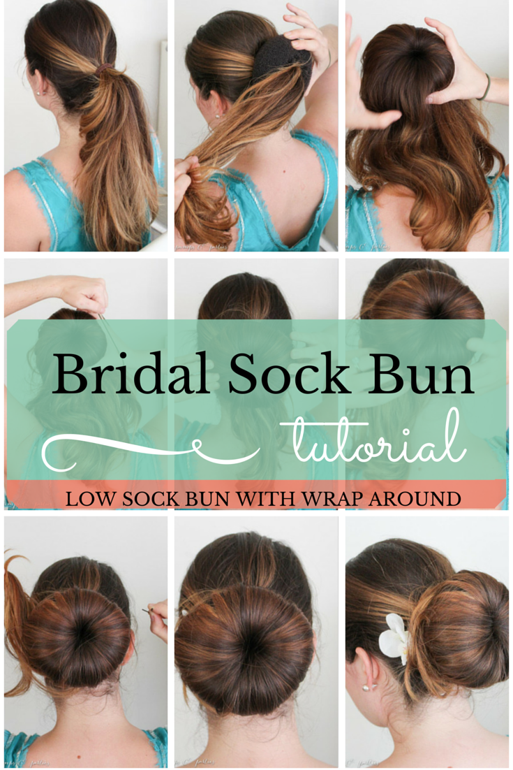 hair bun donut instructions