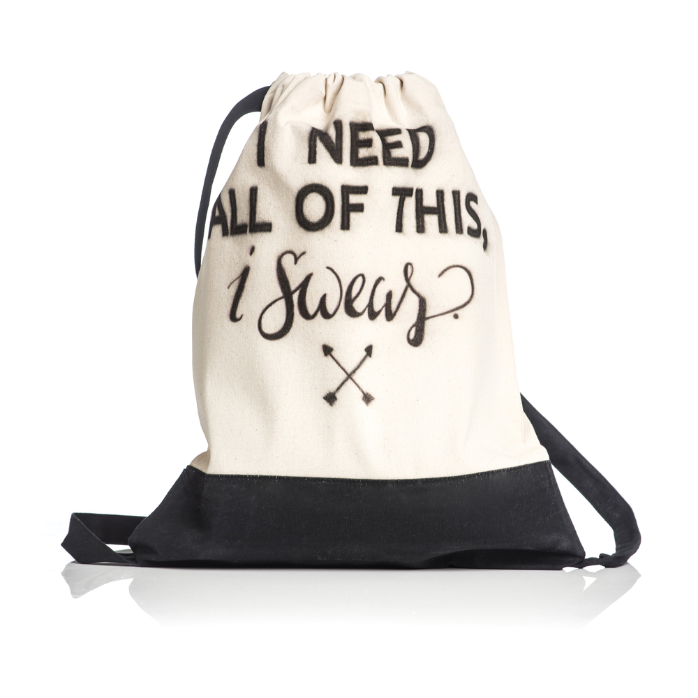 I Need All Of This Draw String Bag 001.jpg