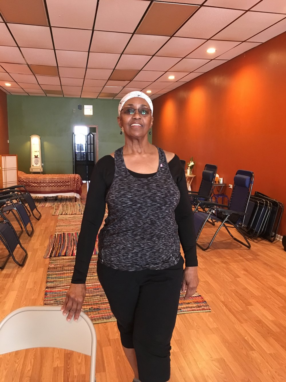 Darlene Blackburn :: Iyengar (restorative/chair) Yoga Instructor