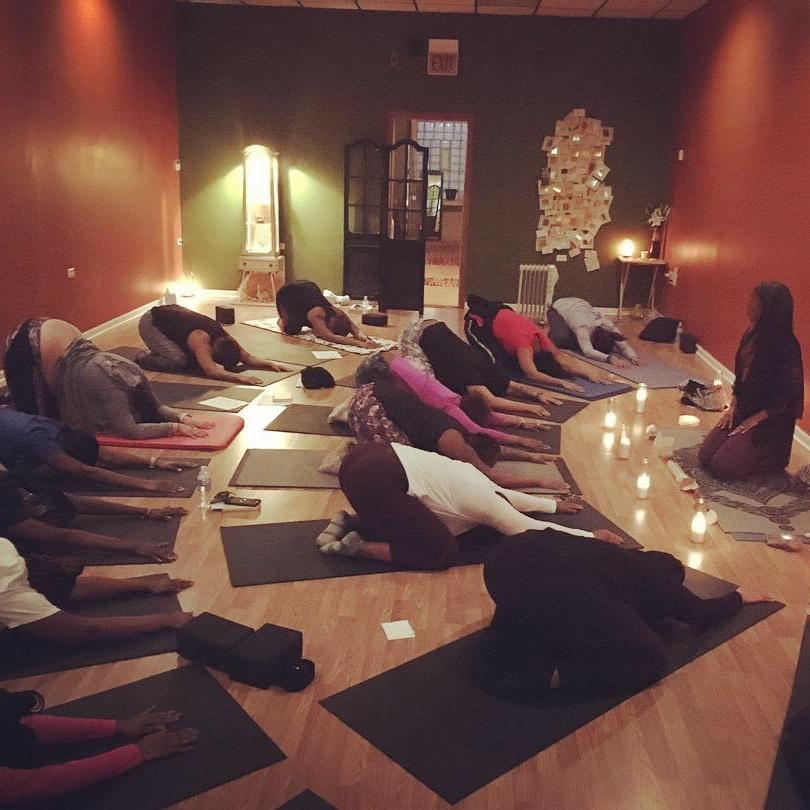 Our New Years Eve Self Care Workshop led by Angelana Grant