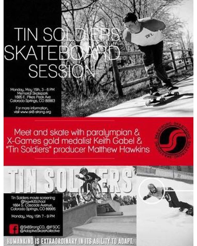 Anyone in Colorado Springs on the 15th? Another screening of Tin Soldiers! Check it out if you're in the area. Yay!