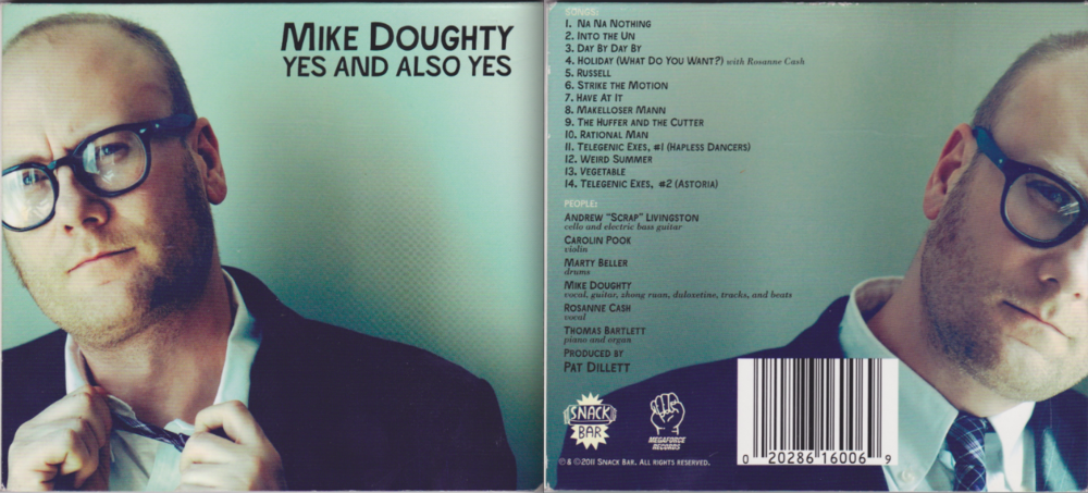 Copy of MIKE DOUGHTY / YES AND ALSO YES