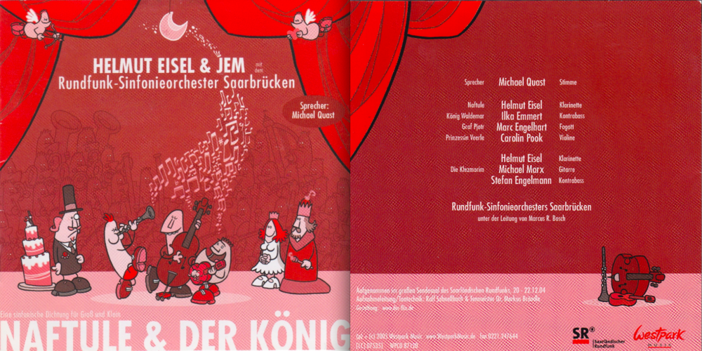 Copy of HELMUT EISEL / NAFTULE UND DER KÖNIG