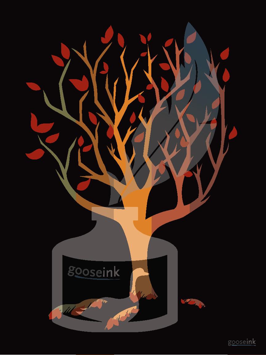 Autumn Tree Poster  | $18.35