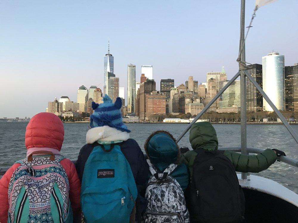 Ellis and Liberty Islands