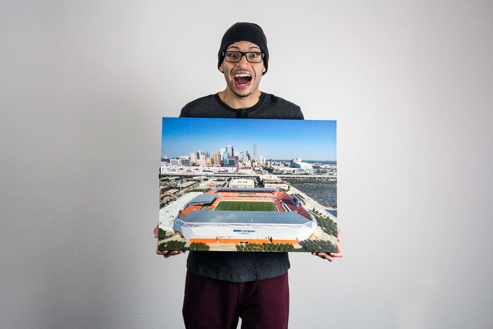 BBVA Compass Stadium - Canvas Print
