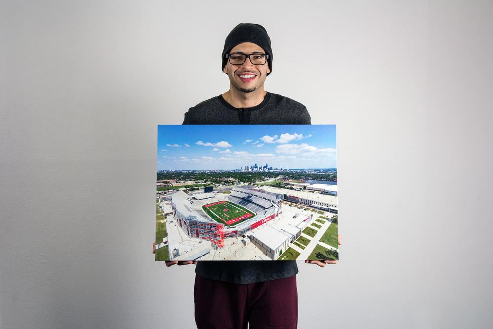 TDECU Stadium - Canvas Print