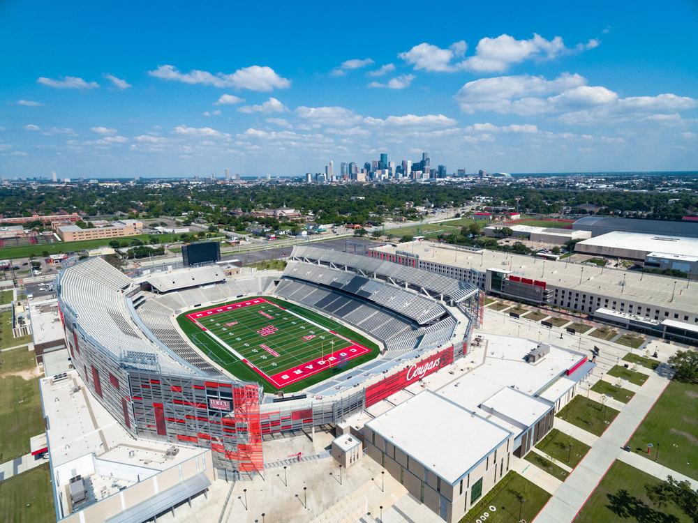 TDECU Stadium - Canvas Print - Houston Sports Scene