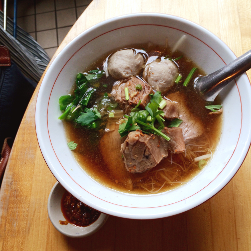 Pa-yao Beef Noodle Soup