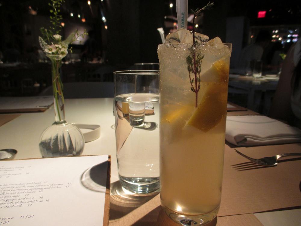 Lemon Thyme lemonade