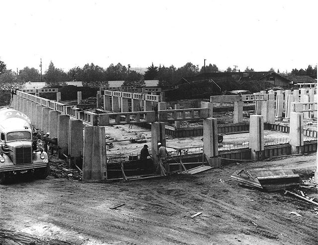 A look down memory lane for #tbt, circa 1965 when Concord's Civic Center was being built. The Civic Center was designed by architect Ernest J. Kump. ———————————————————————— #cityofconcord #concord #concordca #concordcalifornia #california #californialiving #eastbay #bayarea #contracosta #contracostacounty #cococounty #architecture #construction