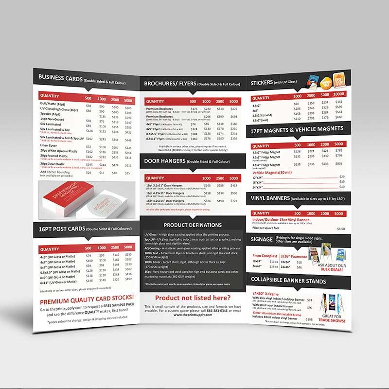 Premium-Brochure