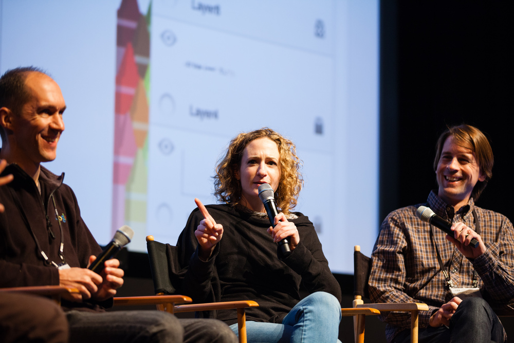 Luc Vincent, Google  ;   Alyssa Wright, VP partnerships & business development, Mapzen  ; Jan Erik Solem, CEO & founder, Mapillary [L-R] ©Robert Wright/LDV Vision Summit