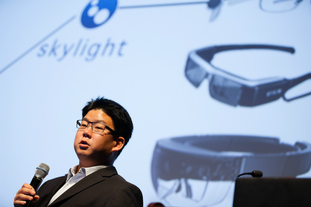 Jay Kim, CTO, APX Labs ©Robert Wright/LDV Vision Summit