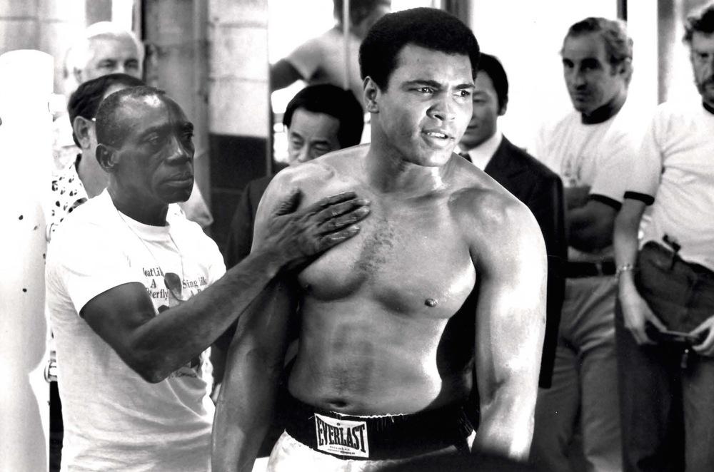 Muhammad Ali, 1976 ©Rick Smolan