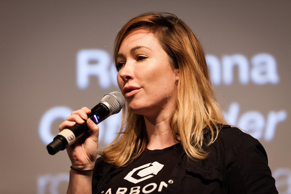 Rosanna Myers CEO & Co-Founder, Carbon Robotics Startup Competition Winner ©Robert Wright/LDV Vision Summit