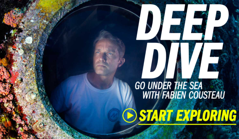 Deep Dive with Fabien Cousteau - Courtesy of TIME