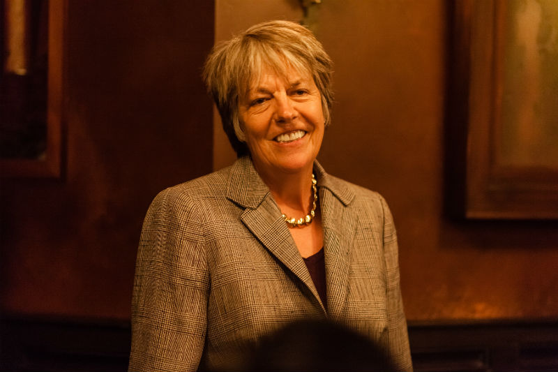 Judy Robinett, LDV Community dinner May 2016 © Robert Wright