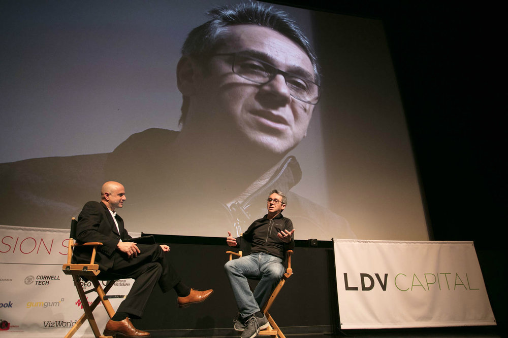 Fireside Chat Day 1: Josh Kopelman, Managing Partner of First Round Capital and Evan Nisselson, General Partner of LDV Capital @Robert Wright/LDV Vision Summit