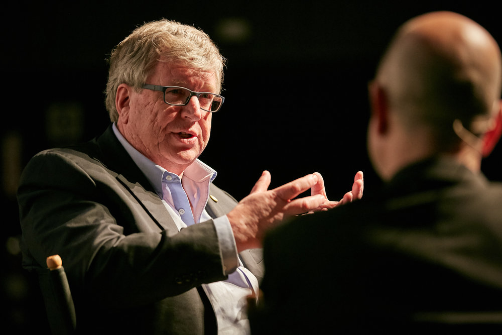 Day 1 Fireside Chat with Eric Fossum, CMOS Image Sensor Inventor and Dartmouth, Professor.  ©Robert Wright/LDV Vision Summit 2018