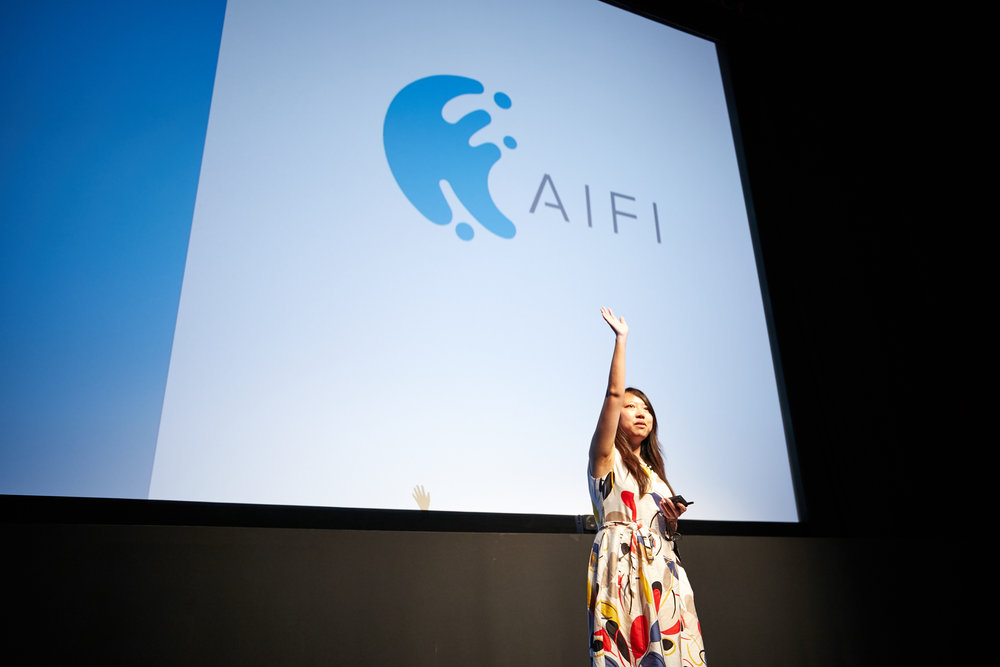 Ying Zheng, AiFi, Chief Science Officer & Co-Founder ©Robert Wright/LDV Vision Summit 2018
