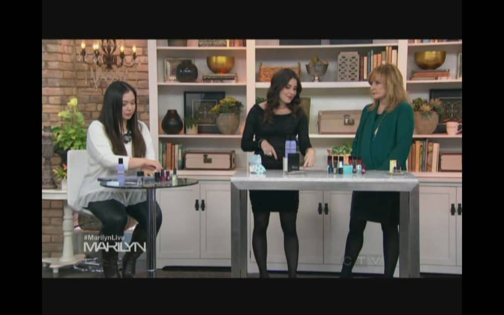 Nail Polish Demo on the Marilyn Denis Show