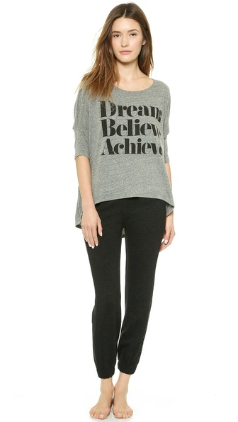 Sincerely Jules Dream Believe Achieve Pajamas
