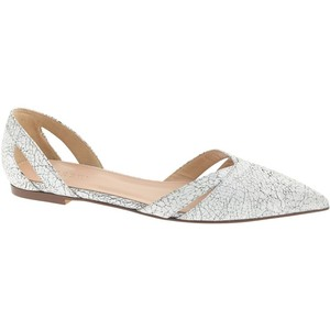 Harper Crackled cutout flat