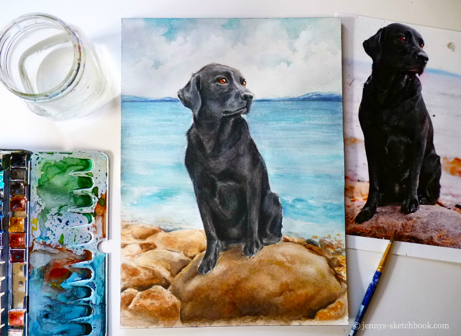 jennys-sketcbhook-0713-watercolor-pet-portrait-lab.jpg