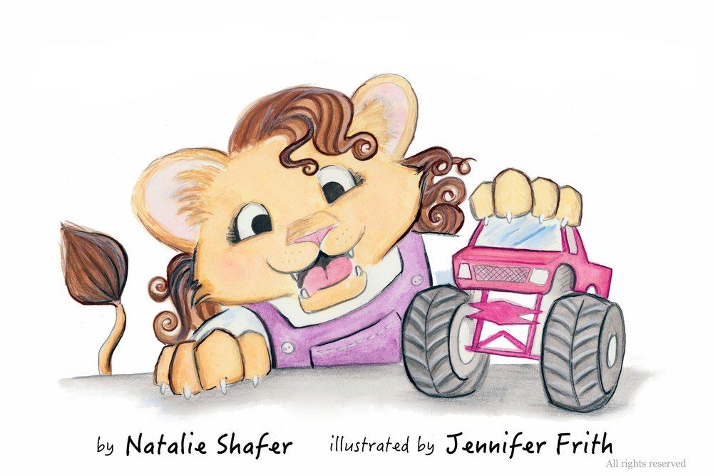 Maggie Likes Monster Trucks - Written by Natalie Shafer.  Illustrated by Jennifer Frith.