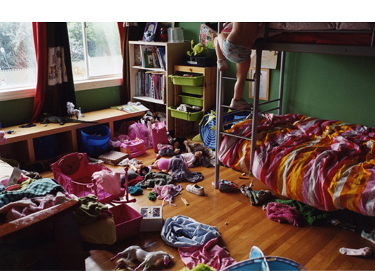 Untitled, 2007   (Lily in her bedroom)  C-print