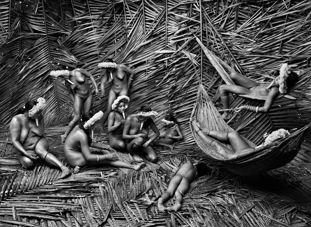 Zo'e Group, State of Para, Brazil, 2009   20 x 24 inches  Gelatin silver print