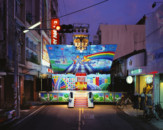 Yunlin Taiwan 2008   Stage 2, Edition 1/3  image size 100 x 125 cm  Lightjet C Print