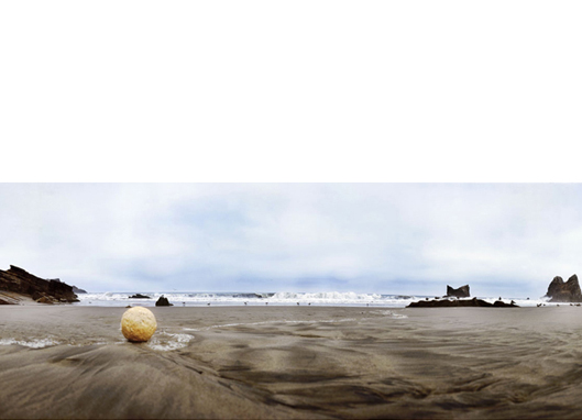 Luna llena, 2010   (Full Moon)  26 x 63 inches  Archival pigment print, 1/8