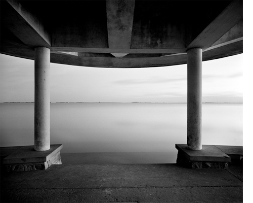Columnas Chascomus, 1986   20 x 24 inches  Archival pigment print Edition 10