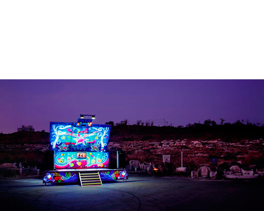 Stage 97, Taichung County,Taiwan   2011  40 x 80 inches  Lightjet C-print, Edition 1/1