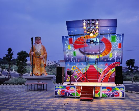 Stage 12, Changhua County,Taiwan   2008  40 x 50 inches  Lightjet C-print, Edition 3