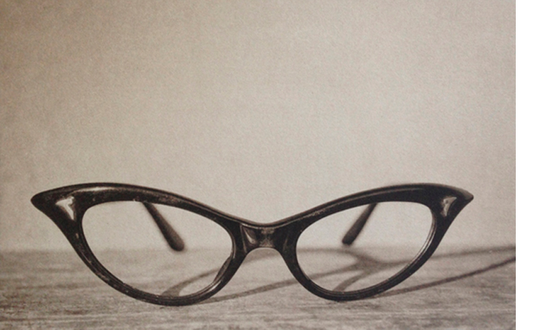 LISA BLAIR  Mar's Glasses   7 x 9.5 inches framed  Platinum / Palladium print