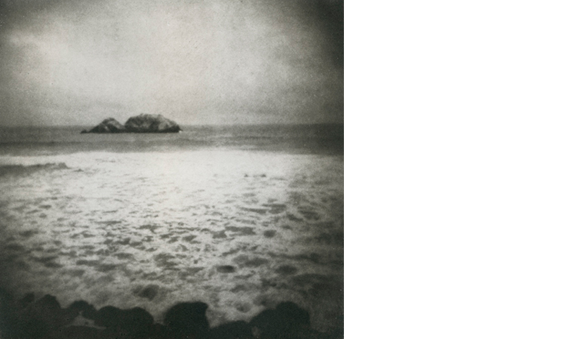 ERIN MALONE  Wrecks that Float O'er Unknown Seas   5.5 x 5.5 inches  Photogravure, Edition 25