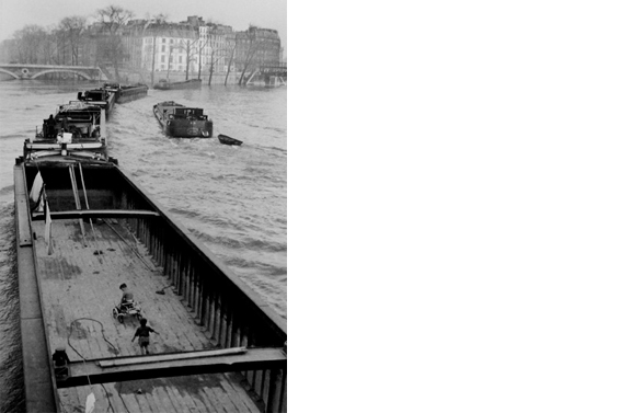 La Peniche aux Enfants   Paris, 1950  14 x 11 inches  Gelatin silver print, printed later