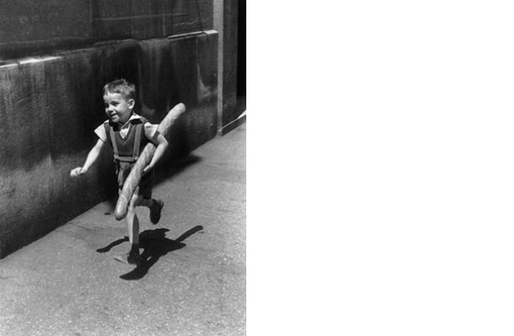 Le Petit Parisien, 1952   14 x 11 inches  Gelatin silver print, printed later