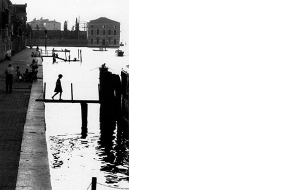 Fondamonte nuove   Venice, 1959  14 x 11 inches  Gelatin silver print, printed later
