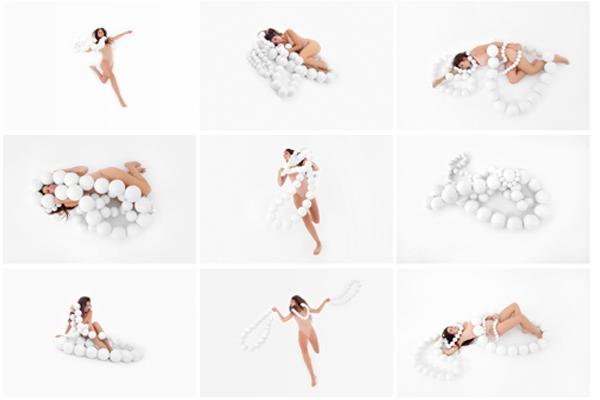 VICENTA CASAÑ  El peso de las cosas  2011 10 x 15 inches Archival pigment prints mounted on dibond