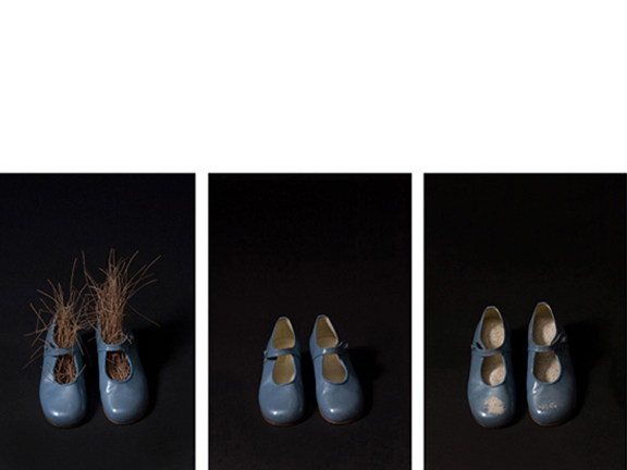 Blue Shoes, 2010   18 x 14 inches  C-prints, 1/5